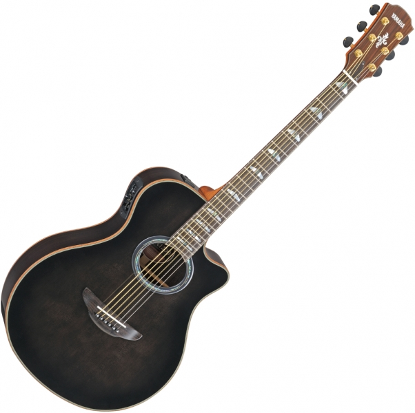 Buy yamaha apx 1200 translucent black euroguitar for Yamaha apx series