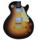 Let's Rock  Mouse Pad Guitar 1 sunburst