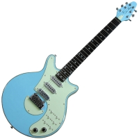 brian may electric guitar brian may signature baby blue baby blue. Black Bedroom Furniture Sets. Home Design Ideas