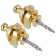 Fire & Stone  Security Lock (pair) gold