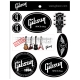 Gibson  G-STICKER1 Die-Cut Stickers (12 pack)