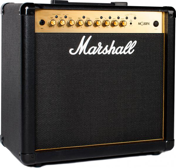 buy marshall mg50gfx gold combo 50 w euroguitar. Black Bedroom Furniture Sets. Home Design Ideas